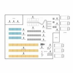 Warehouse Layout Designing Services, in Local+250 Km