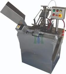 Automatic Two Head Closed Ampoule Filling and Sealing Machine