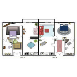 Buildings and Layouts Architectural Plans