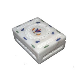 Stylish Marble Inlay Boxes