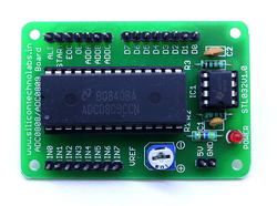 ADC0808/ADC0809 Analog To Digital Breakout Board
