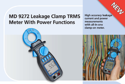 Leakage Clamp TRMS Meter with Power Functions