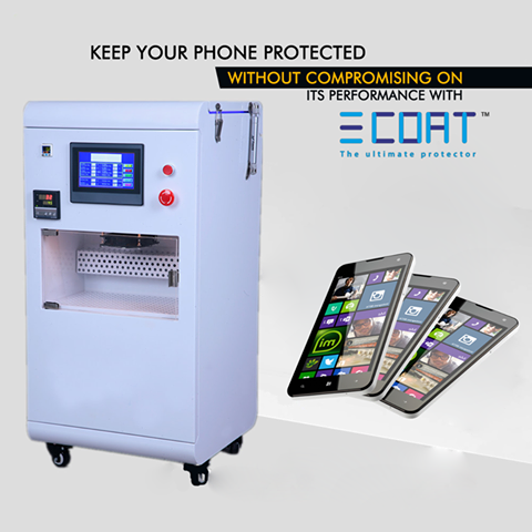 low priced 2ec76 53e0e Mobile Water Proof Nano Coating Machine - E Coat Shop, Surat | ID ...