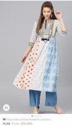 Casual Wear Cotton Branded Ladies Garments Stocklot (W, Biba, Rangriti, Aurelia, Many Etc., ), Wash Care: Machine Wash