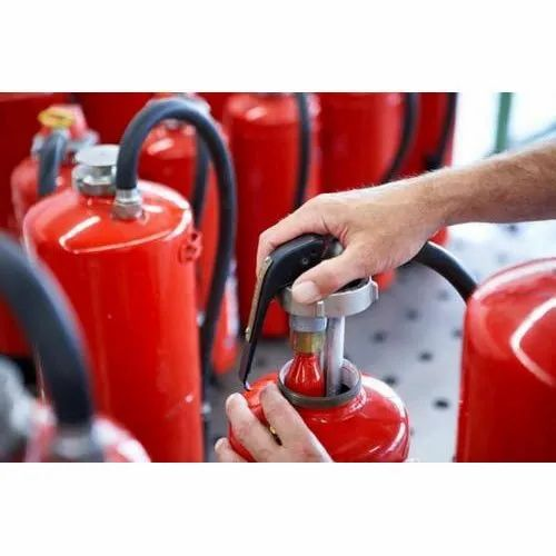 Industrial Fire Extinguisher Refilling Service
