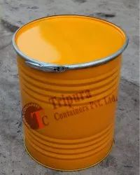 Chemicals Mild Steel 100 Liters Open Mouth Ms Barrel