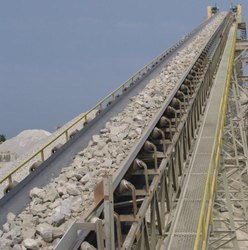 Limestone crushing Plant Conveyors