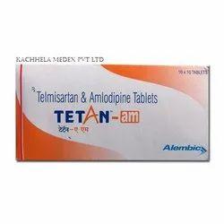 Telmisartan 40 Mg Amlodipine 5 Mg Tab