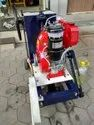 Road Concrete Cutter Machine with Greaves Engine, Grooves Machine with Greaves Engine