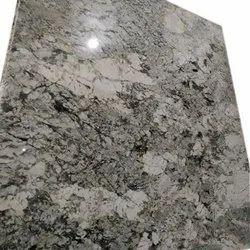 Alaska Grey Granite Slab, For Flooring, Thickness: 17 mm