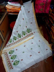 Embroidery Handloom Sarees
