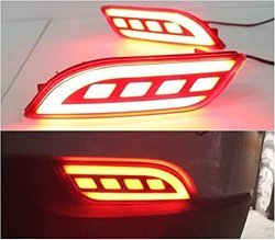 Rear Bumper LED Reflector Light For Jeep Compass