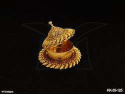 Antique Jewellery Kum Kum Box