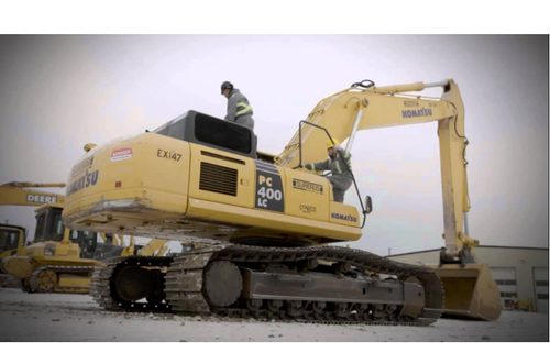 Heavy Equipment Operator Recruitment on Construction Site in Chheda
