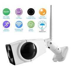 Waterproof Wireless Outdoor FIsheye Camera