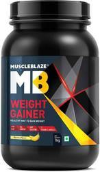 Muscleblaze Weight Gainer With Added Digezyme, 2.2 Lb Banana