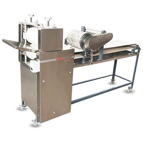 Qualimark Stainless Steel Semi Automatic Chapati Making Machine