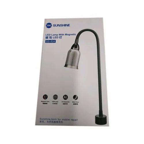 Stainless Steel SS-804 Sunshine Magnetic LED Lamp, 10W, Voltage: 110-220v