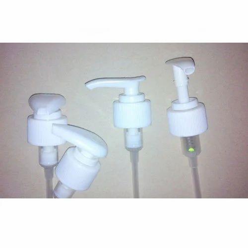 Plastic White Shampoo Dispenser Pumps