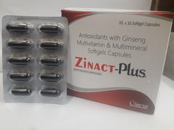 Antioxidants with Ginseng Multivitamin And Multimineral Softgels Capsules