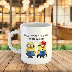 Customized Coffee Mug Printing Cartoon Printed
