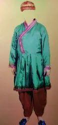 Silk Plain Rajasthani Waiter Uniform, Size: Medium