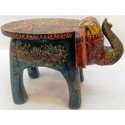 Wooden Elephant Table