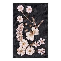 Ribbon Flowers Embroidery