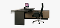 Laminated Modular Office Workstation