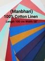 Cotton Linen Shirting Fabric