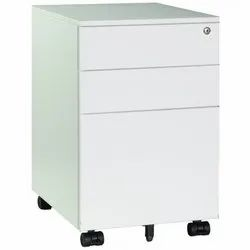 Fonzel 1116101 Three Drawer Mobile Pedestal Cabinet