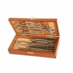 Surgical Instruments Wooden Box