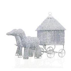 White Horse Cart