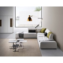 L Shaped Corner Sofa Set, Living Room