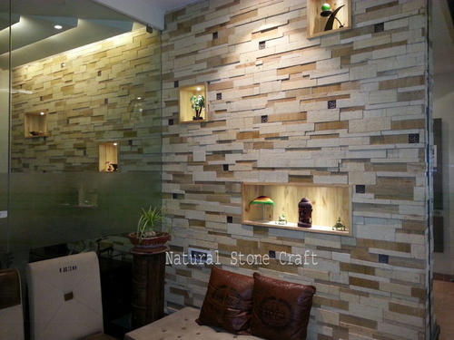 Marble Stone Wall Tiles Size 150 X 600 Mm