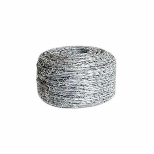 Mild Steel Industrial Barbed Fencing Wire