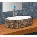 Capsule-131 Wooden Table Top Wash Basin