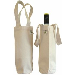 Plain Canvas Wine Packing Bag