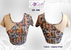 GO 406 Digital Printed Blouses