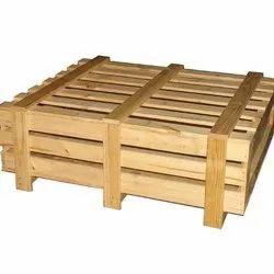 Rectangular Closed Crates Industrial Wooden Create Box