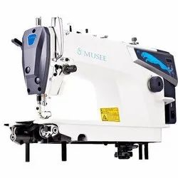 Automatic White Industrial Sewing Machines Musee