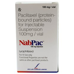 100 Mg NabPac Paclitaxel Injection