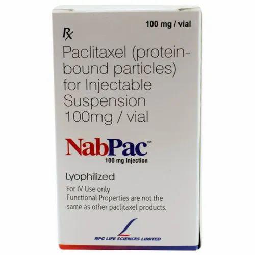100 Mg NabPac Paclitaxel Injection