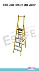 Fiber Glass Platform Step Ladder
