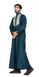 Men Cotton Stylish Designer Thobe Jubba Dishdasha