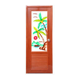 PVC Glass Door, Size: 2x6 Feet