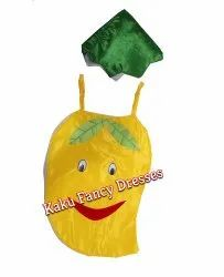 Kids Smiley Mango Cutout Costume