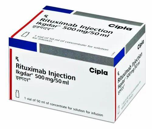 EKGDAR 500mg/50ml Injection Rituximab 500mg/50ml