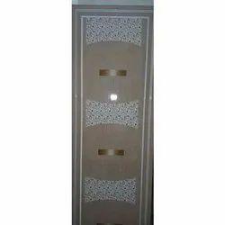 Glossy Hinged Decorative PVC Door