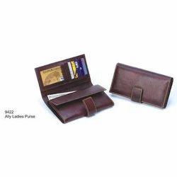 Maroon Leather Ladies Wallet
